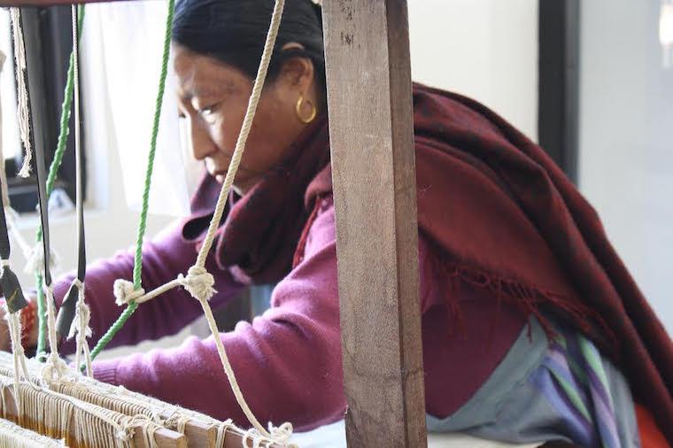 Ochre Yarn helping Artisans in Nepal.